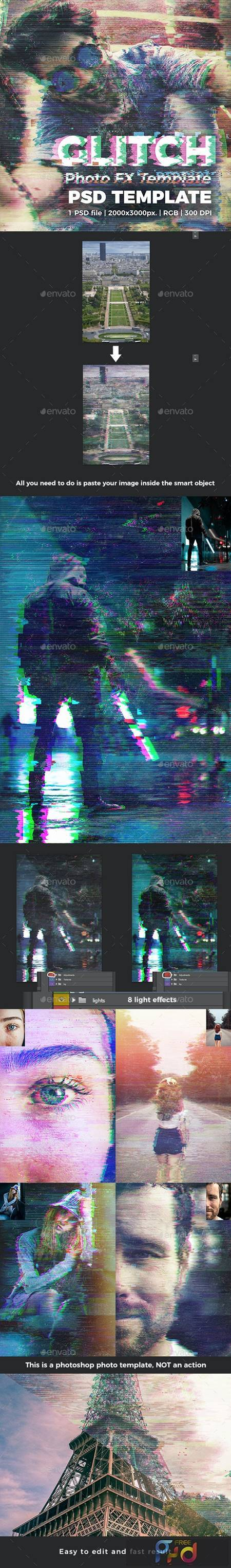 Glitch Photo FX Template 27055358 1