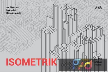 Isometrik - Abstract Isometric Backgrounds K69JWVM 1