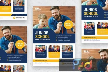 Kids Education - Poster NRX4KYC 1