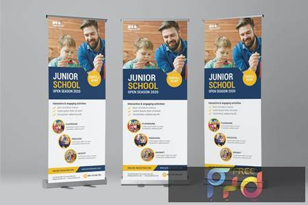 Kids Education - Roll Banner RLAYECE 1