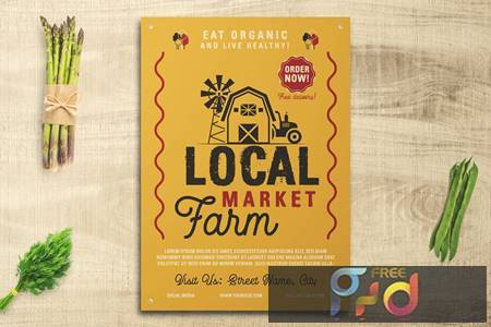 Local Farm Market Flyer WLGLXCC 1