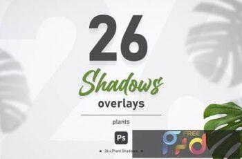 Plant Shadow Overlays VEVZWFF 9