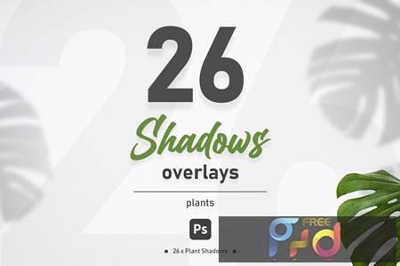 Plant Shadow Overlays VEVZWFF 1