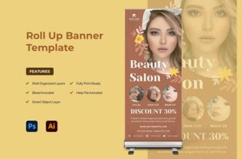 Rollup Banner AGZ235B 6