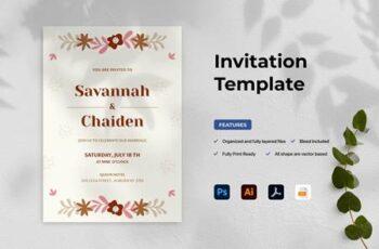 Wedding Invitation Y4QKPAR 4