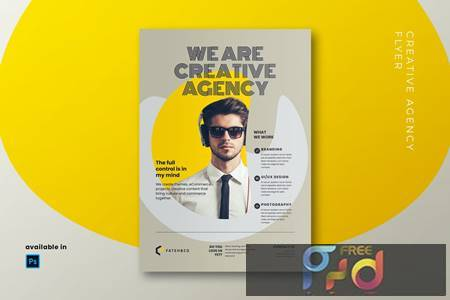 Creative Agency Flyer UP7P3NY 1