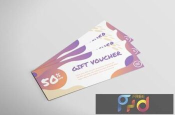 Discount Card - Voucher Design P4JCZFK 7
