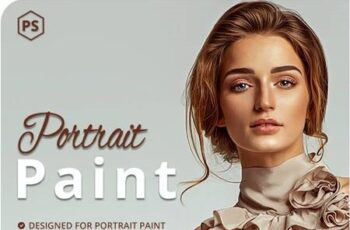 5 Portrait Paint Photoshop Actions 27822401 2