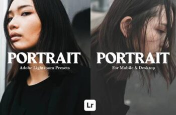 10 PORTRAIT MOBILE LIGHTROOM PRESETS 5290394 5