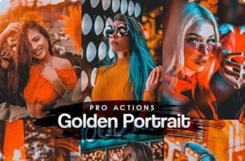 Golden Portrait Photoshop Actions 27660597 5