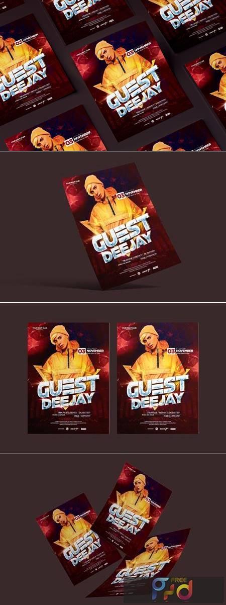 Guest DJ Flyer R8BBQ28 1