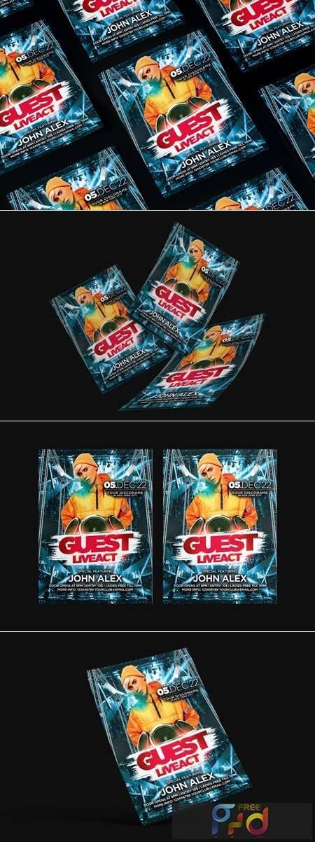 Guest DJ Flyer KAWG5F7 1
