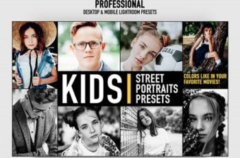 Lightroom Presets Kids Portrait Photography Actions 28278069 6