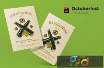 October Festival Flyer Design Template 5KE5JBK 4