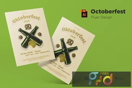 October Festival Flyer Design Template 5KE5JBK 1