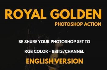 Royal Golden Photoshop Action 27793359 7