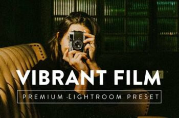 VIBRANT FILM Pro Lightroom Preset 5267391 2