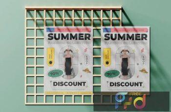 Summer Fashion Flyer TKCUMK4 13