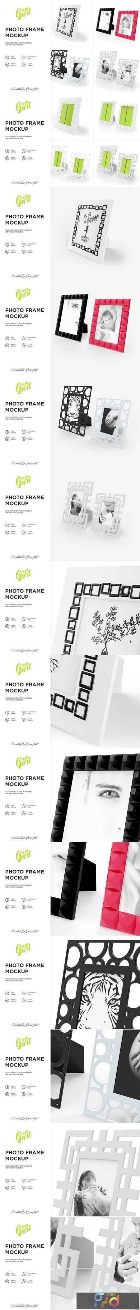 4 PSD Photo Frame Mockup 2332093 1