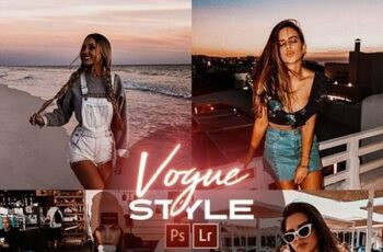 Vogue Style Photoshop Actions + LR Presets 28277327 7