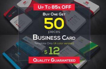 50 Business Cards Bundle 4589907 4