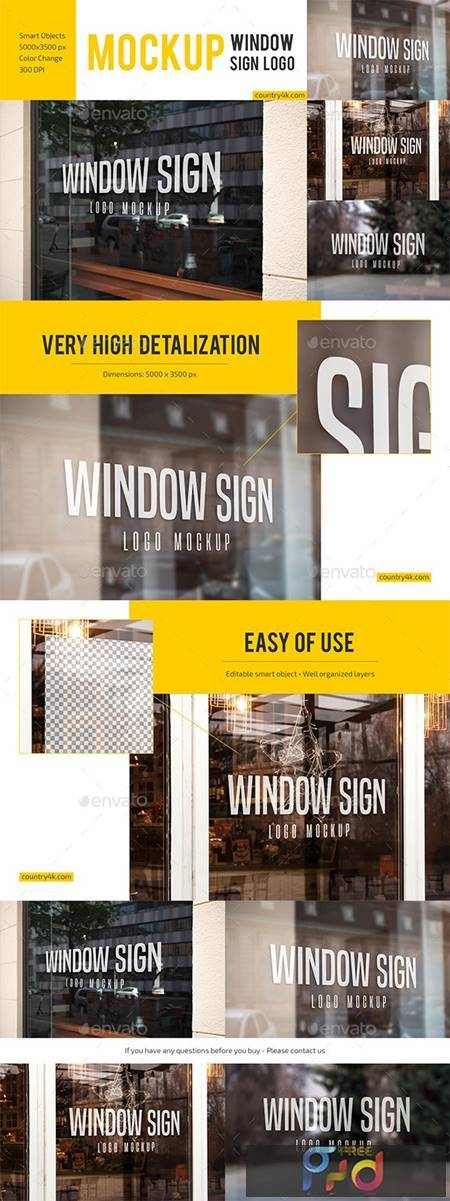 Window Sign Logo Mockup Set 27880965 1