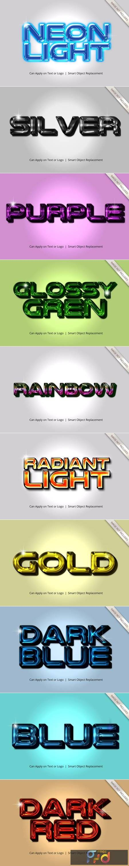 Realistic 3D Text Effect Style 4598449 1