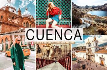 Cuenca Mobile & Desktop Lightroom Presets LV6D62Z 12
