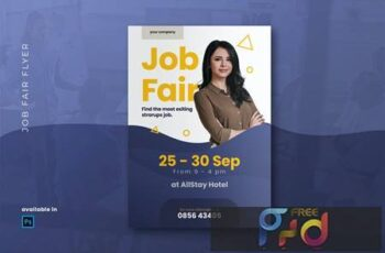 Job Fair Flyer 2T2F3XY 5
