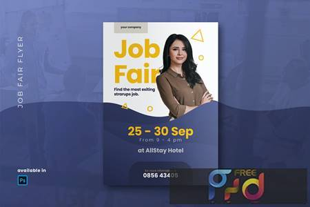 Job Fair Flyer 2T2F3XY 1