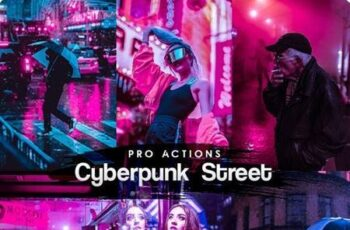 Cyberpunk Street Photoshop Actions 27660544 6