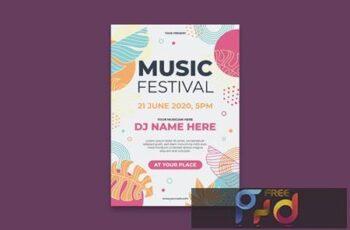 Music Festival Poster JNXKXC5 2