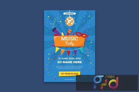 Music Festival Poster L5EL93N 1