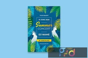 Summer Party Poster UDAPUCH 11
