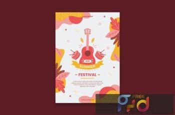 Summer Festival Poster CZHG7RS 4