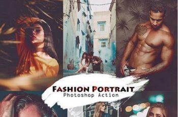 Fashion Portrait Photoshop Action 27131589 2