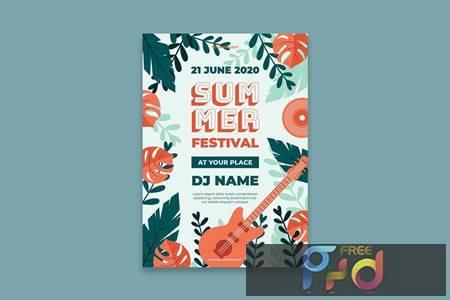 Summer Festival Poster Z99VNYQ 1