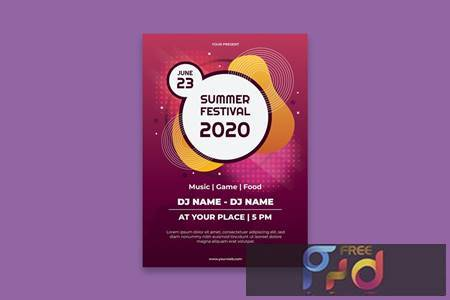 Summer Festival Poster SRGACBS 1