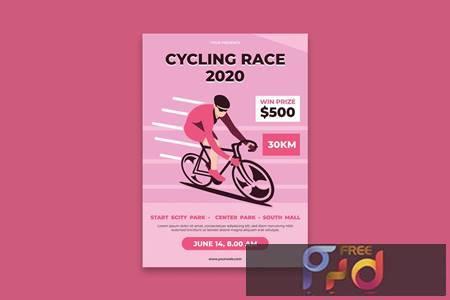Bike Poster DQ46P5M 1