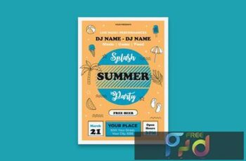 Summer Party Poster GXYFZ4B 1