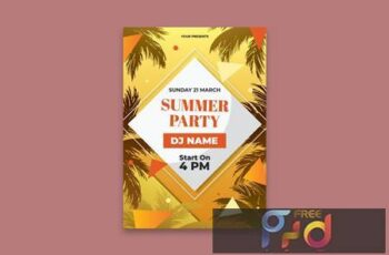 Summer Party Poster K9WWB69 3