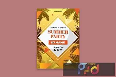 Summer Party Poster K9WWB69 1