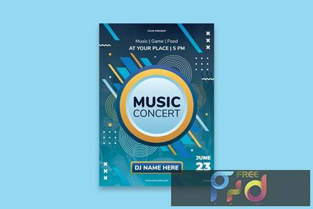 Music Festival Poster 3W9RLZN 1