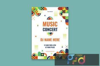 Music Festival Poster KTLL8T3 3