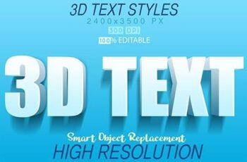 30 Bundle 3D Text Mix 27809999 16