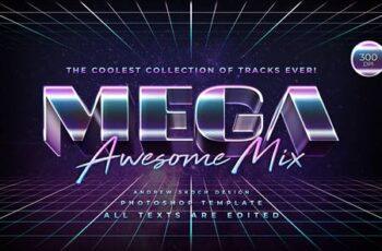 Mega - 80s Retro Text Effect 27717604 16