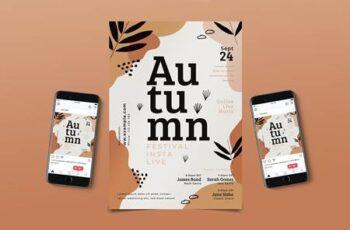Autumn Music Flyer Pack JLZRWH6 10