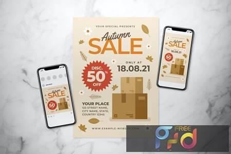 Autumn Sale Flyer Set WA4ZSR8 1