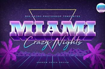 Miami - 80s Retro Text Effect 27731071 7