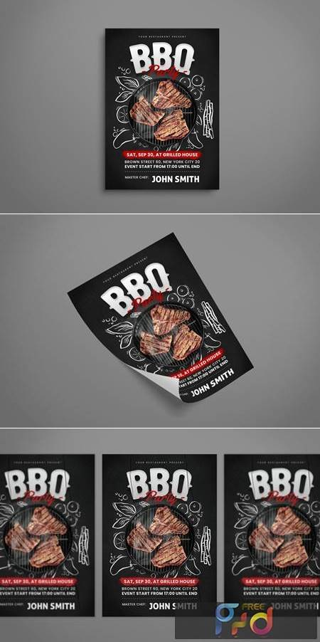 BBQ Flyer 77CL7VY 1